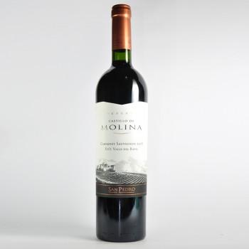 CASTILLO MOLINA CABERNET SAUVIGON 750CC