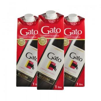 GATO 1 LT. TINTO TETRA -X PACK DE 3