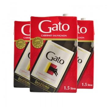 GATO 1.5 LT. TINTO TETRA -X PACK DE 3