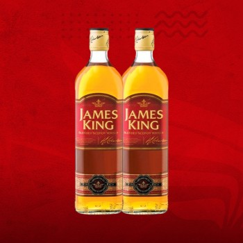 JAMES KING 1LT. - Pack de 2 Oferta