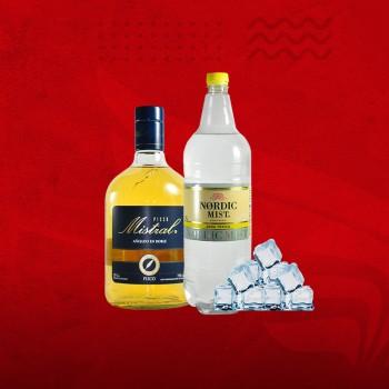 Promo Cuarentena: Pisco Mistral 35°+ Sprite 1,5 + Hielo