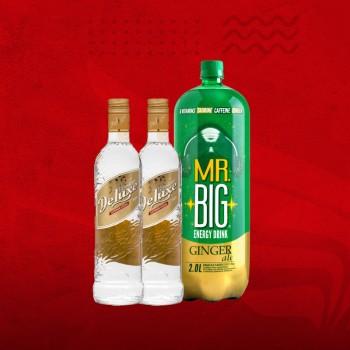 Promo 1 Ltr Vodka Premiun + Mr. Big Ginger Ale 2 Ltr